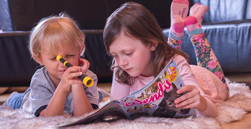 Kinder- und Jugendzeitschriften im Lesezirkel