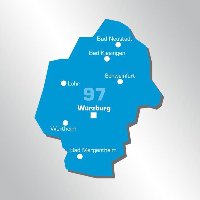 Liefergebiet Unterfranken Lesezirkel Becker+Stahl OHG