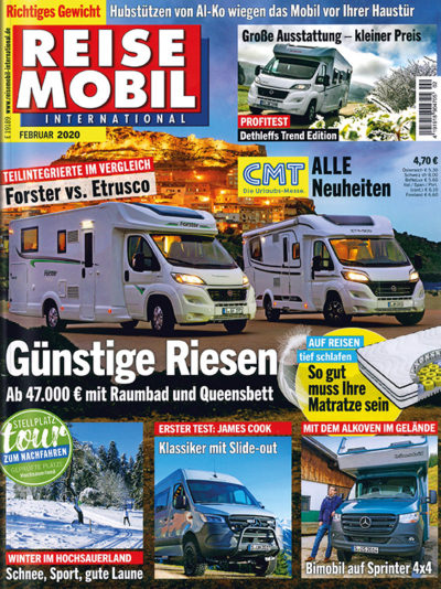 Reisemobil International im Lesezirkel mieten statt kaufen