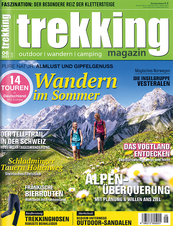 trekking magazin im Lesezirkel mieten statt kaufen