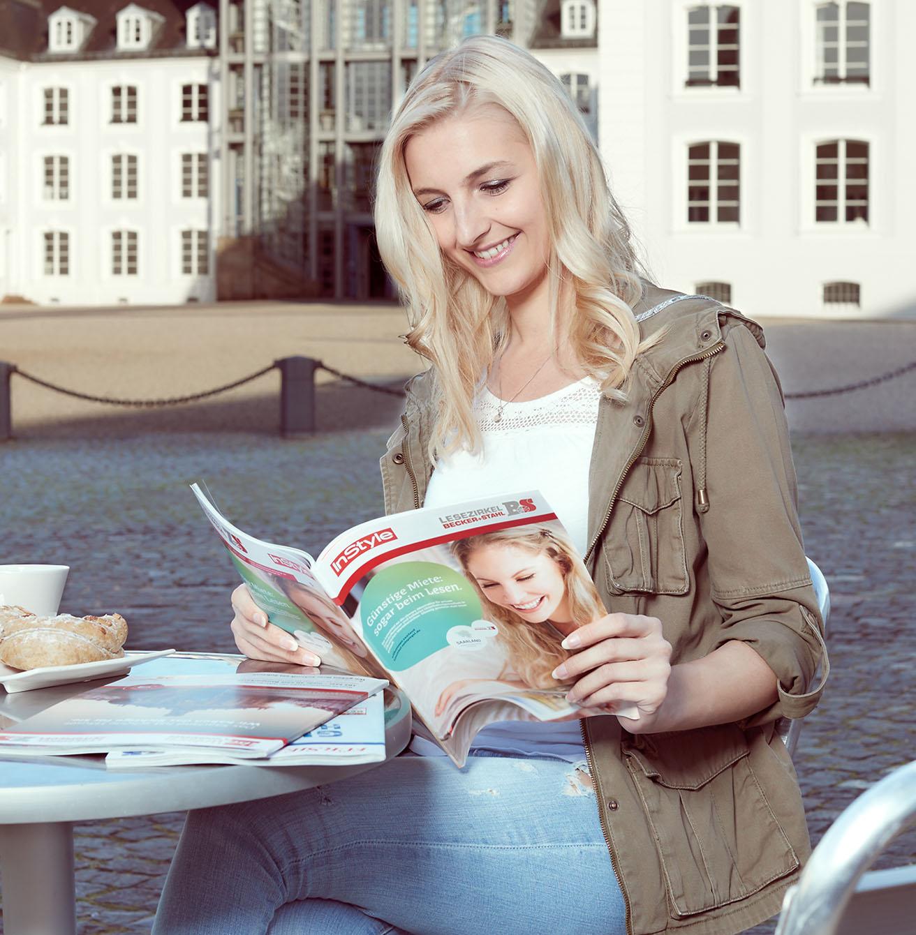 Große Auswahl an Zeitschriften im Lesezirkel